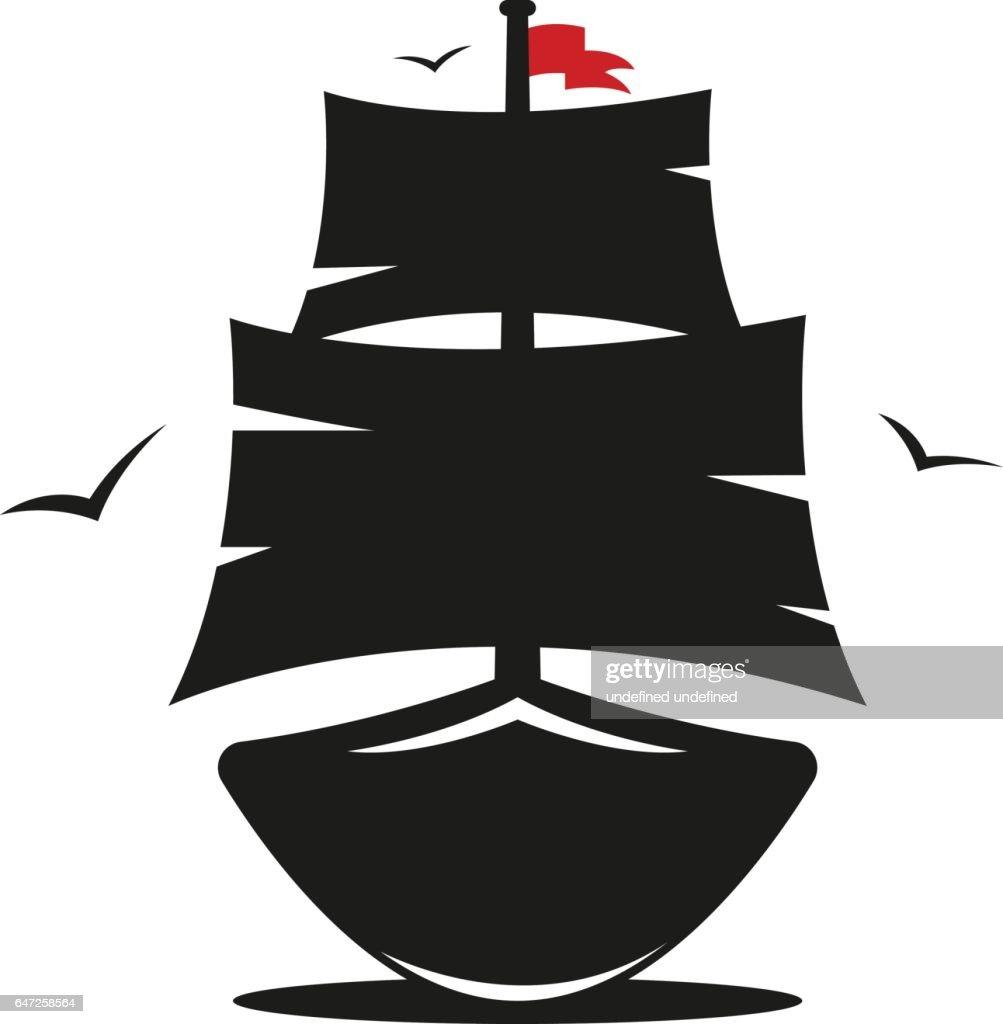 pirate ship vector image alternative clipart design u2022 rh extravector today pirate ship silhouette vector pirate ship vector art