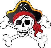 Pirate skull theme 1