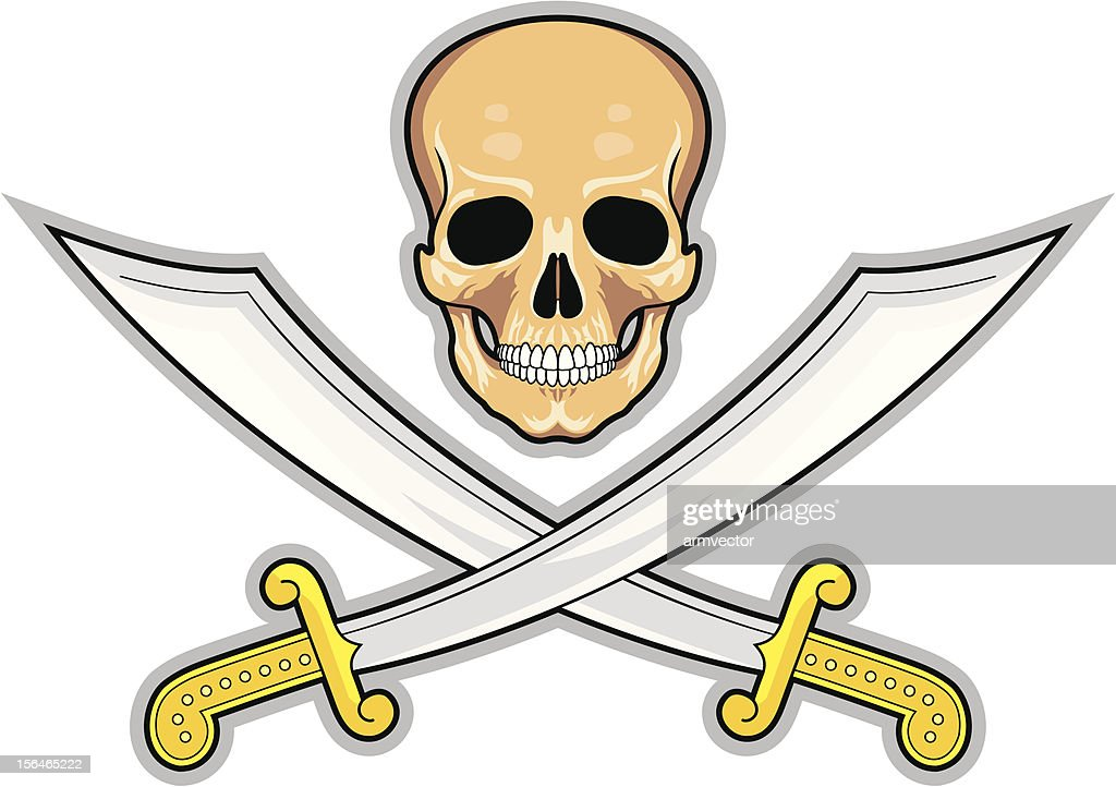 Pirate symbol Jolly Roger