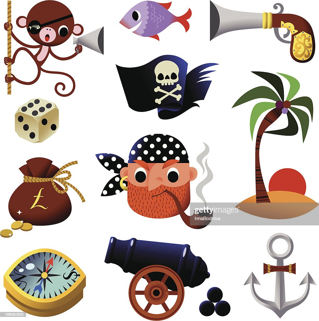 Piraten Icons