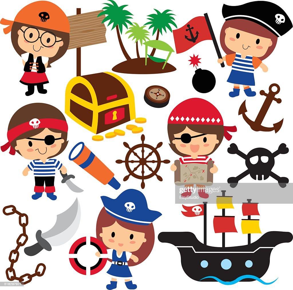 pirates kids clip art