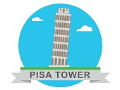 Pisa Tower Icons