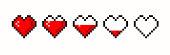 Pixel game life bar.