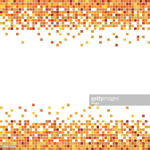 Pixel in Orange