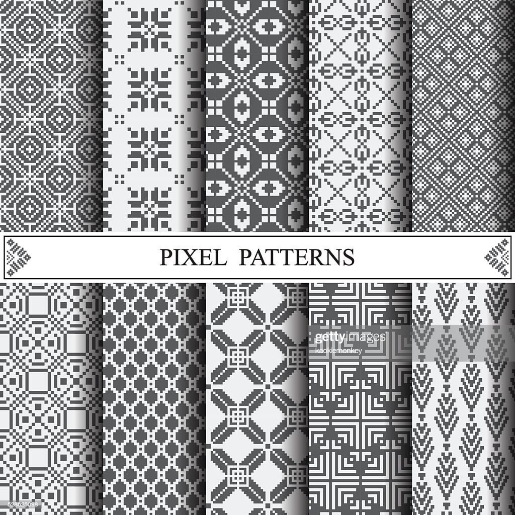 pixel pattern, textile, pattern fills, web page background, surf