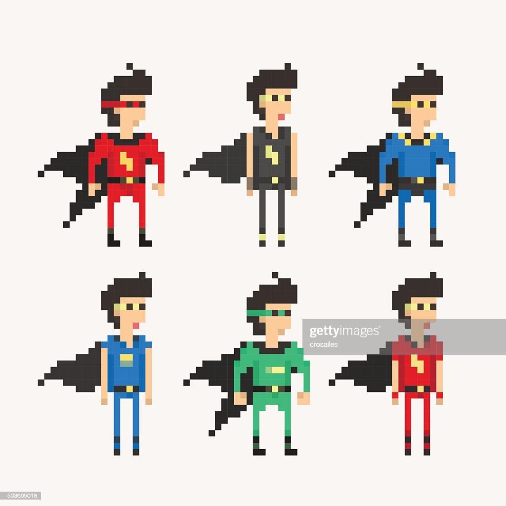 Pixel People - Superhero Cloak