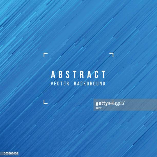 Pixel Rain Flow Abstract Texture Blue Background
