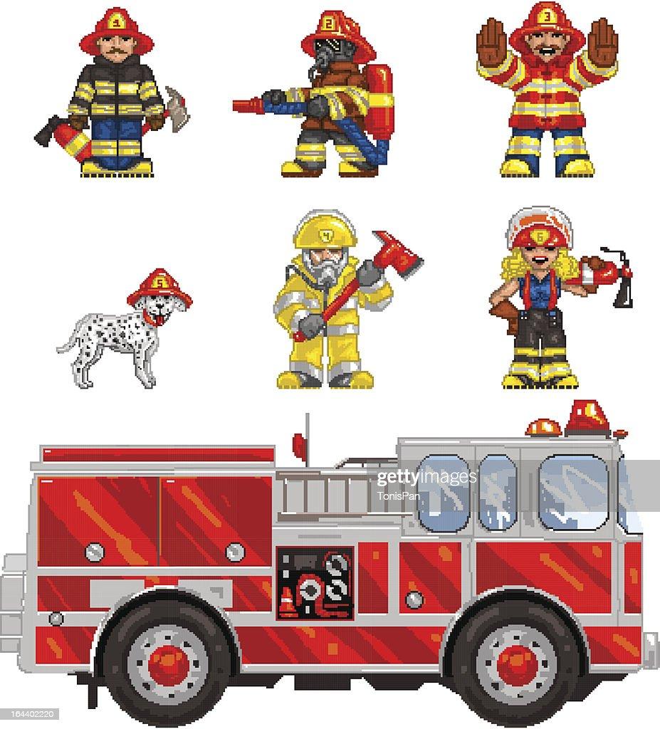 PixelArt: FireFighters