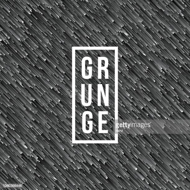 Pixelated Grunge Abstract Texture Gray Background