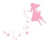 Pixie Fairy with Sparkles