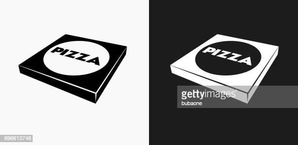 60点のピザボックスのイラスト素材クリップアート素材マンガ素材