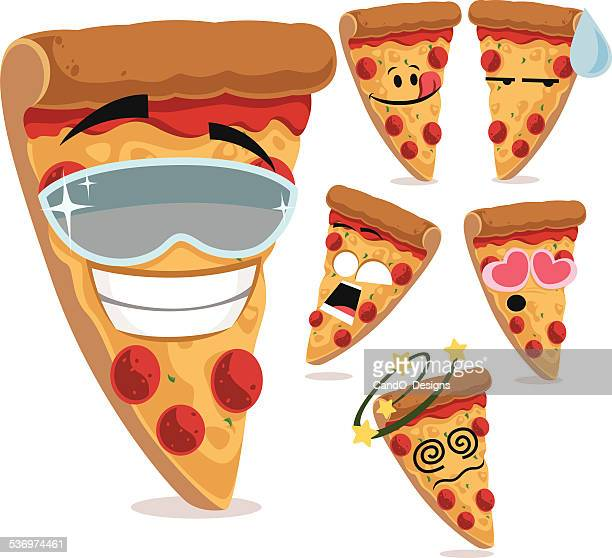 Pizza Cartoon Set A