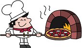 Pizza Chef with Oven