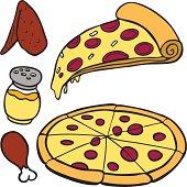 Pizza Food Items