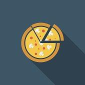 Pizza icon.