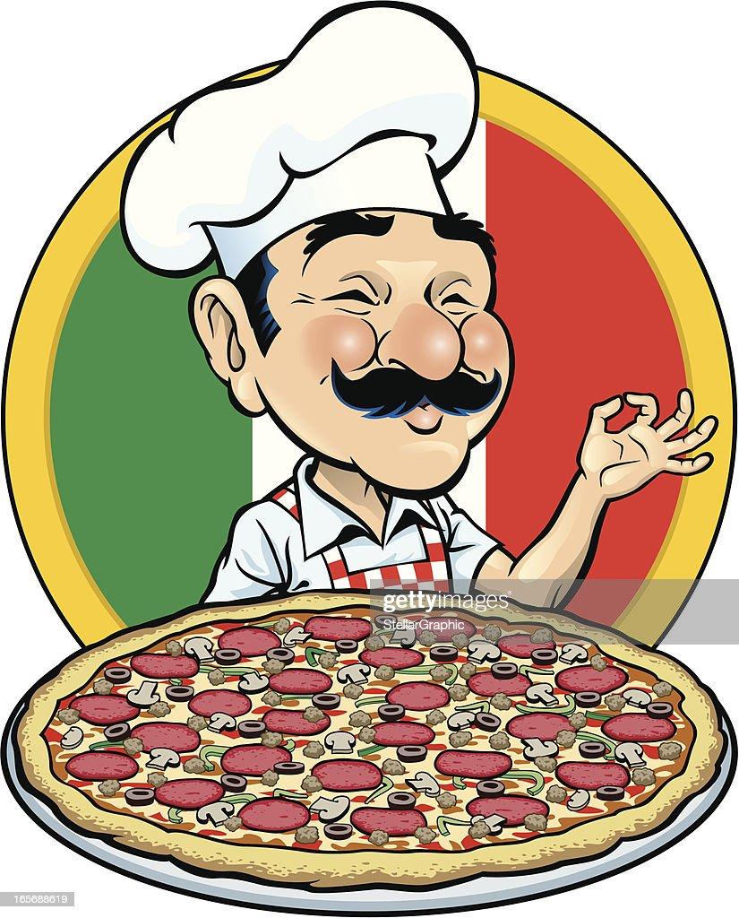 Pizza Time : stock illustration