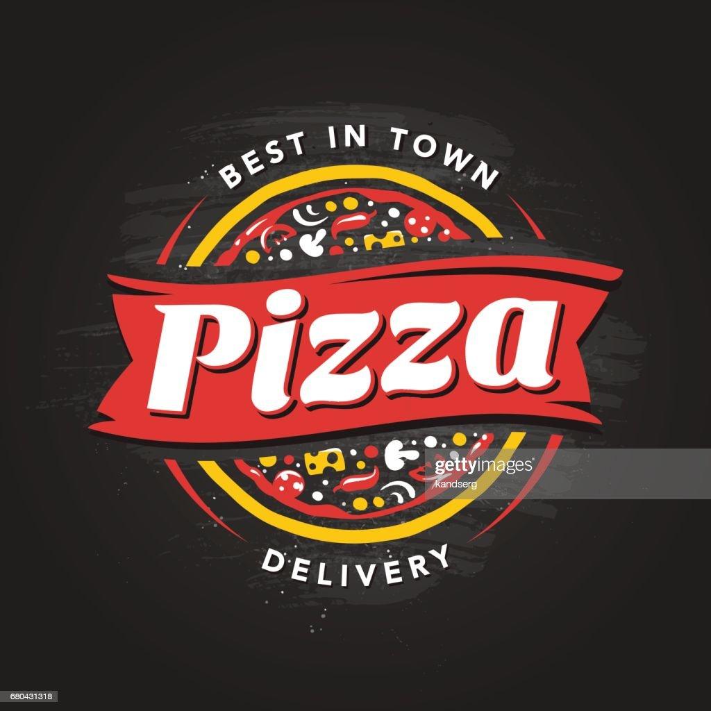 Pizzeria Vector Emblem