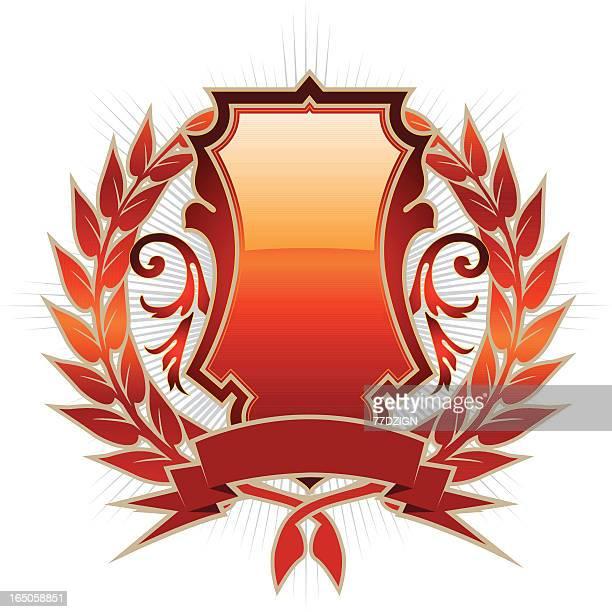 ilustrações, clipart, desenhos animados e ícones de placa do emblema - great seal