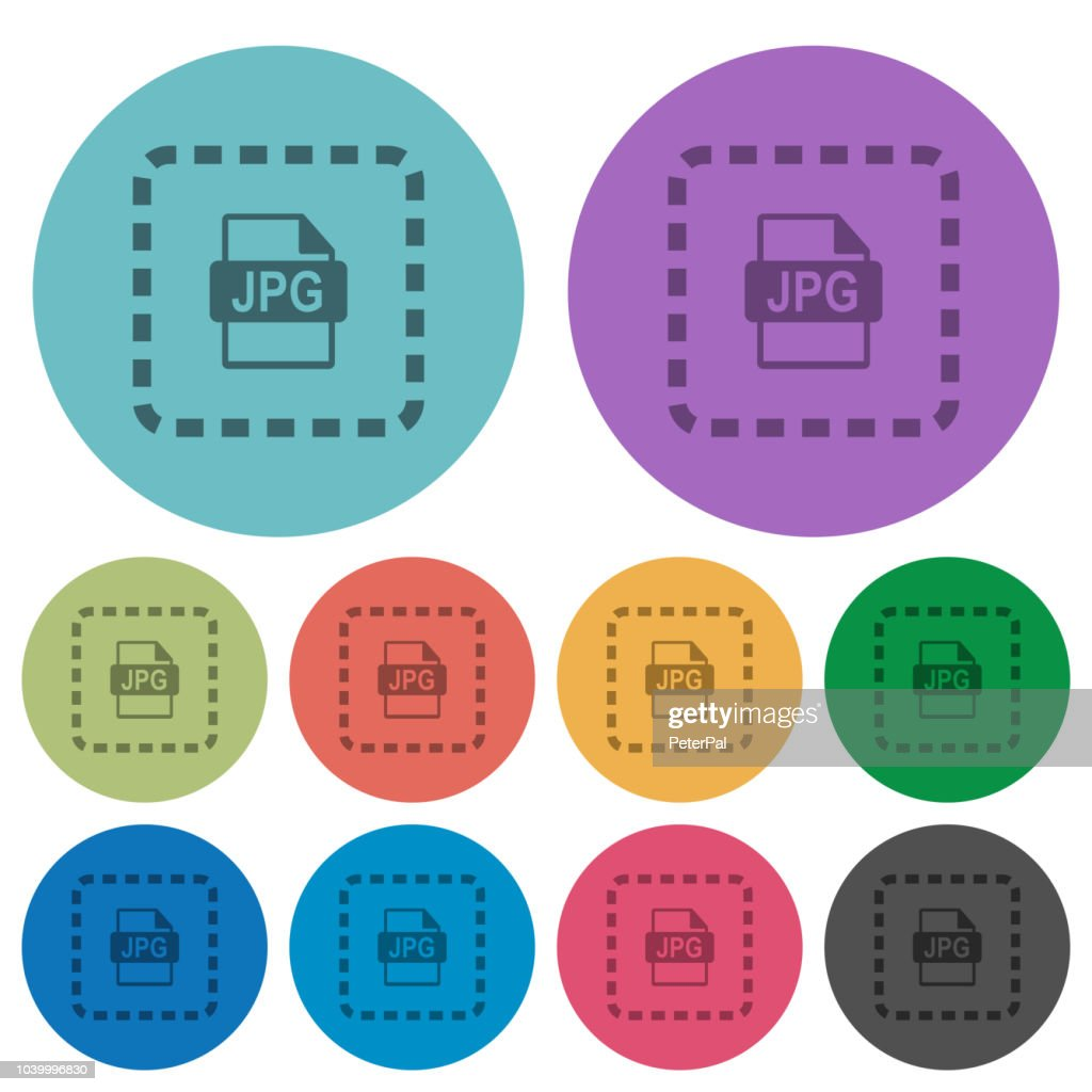 Place jpg file color darker flat icons