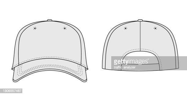 プレーン野球帽 - スポーツユニフォーム点のイラスト素材/クリップアート素材/マンガ素材/アイコン素材