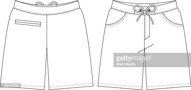 Plain Beach Shorts