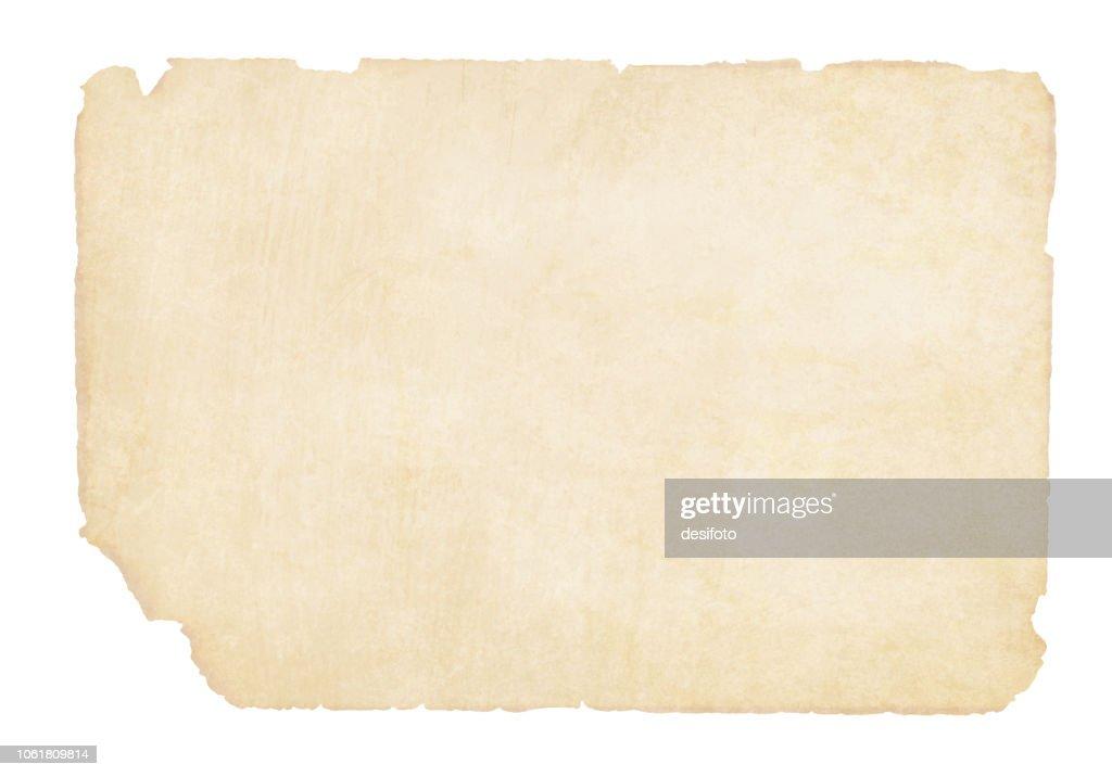 Plain  yellowish brown beige grunge paper background vector illustration : stock illustration