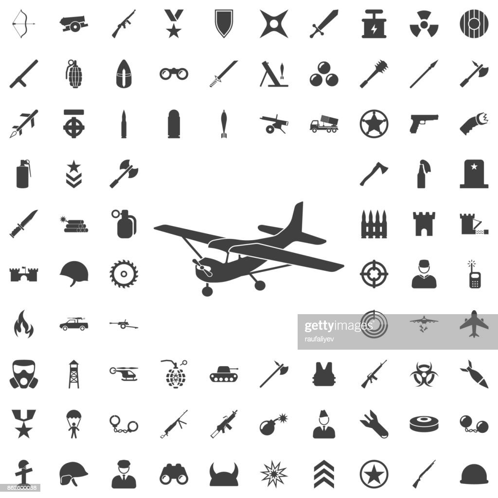 Plane icon.