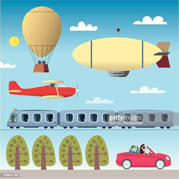 Planes, Trains and er... Airships?