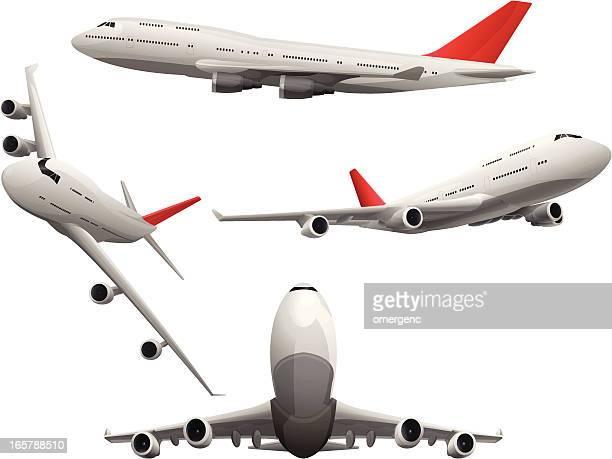 ilustrações de stock, clip art, desenhos animados e ícones de planos - air travel