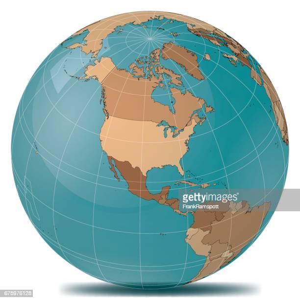Planet Erde Länder USA
