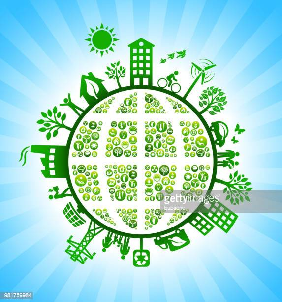 Planet Earth Environmental Conservation Green Environmental Conservation Background
