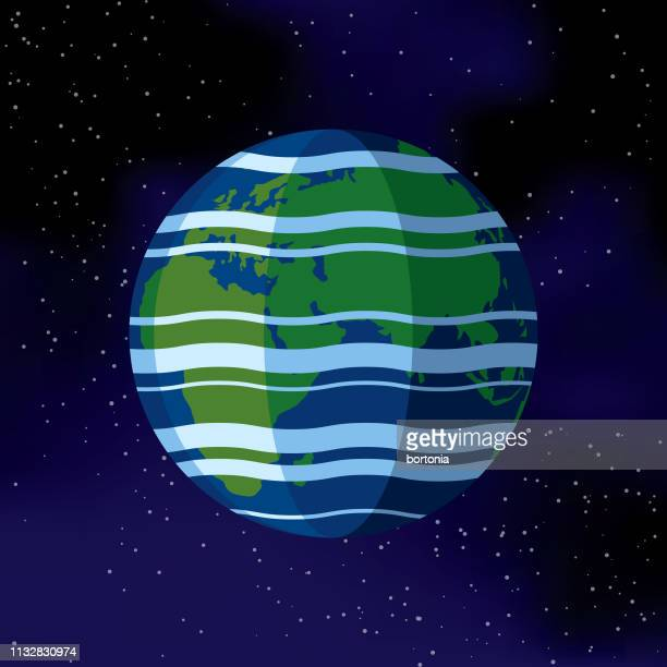 Planet Earth (Eastern Hemisphere) Space Icon