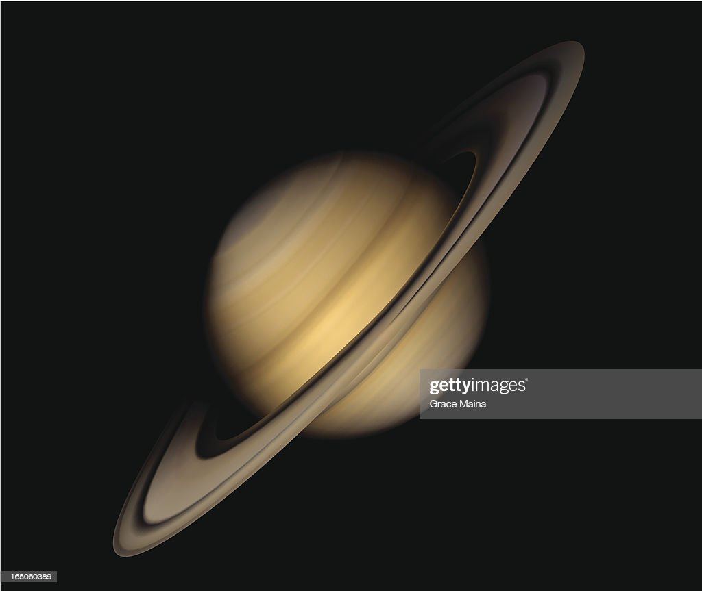Planet Saturn - VECTOR