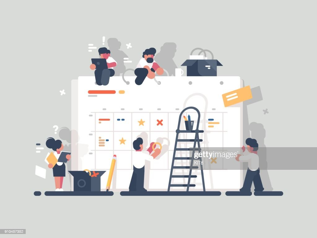 Planning and organization of tasks on board