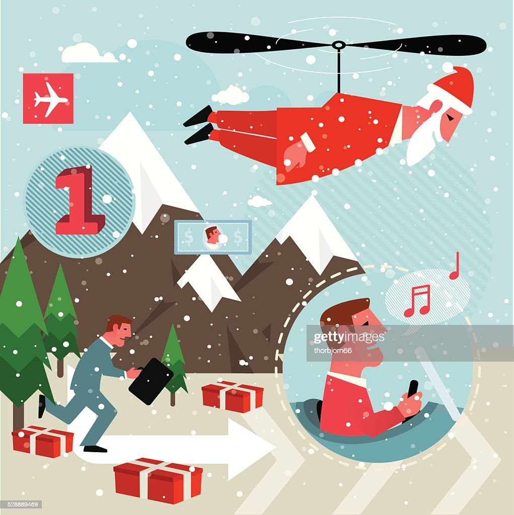 planning christmas vector art getty images