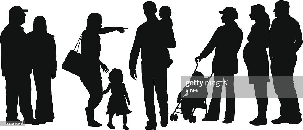Planning Vector Silhouette