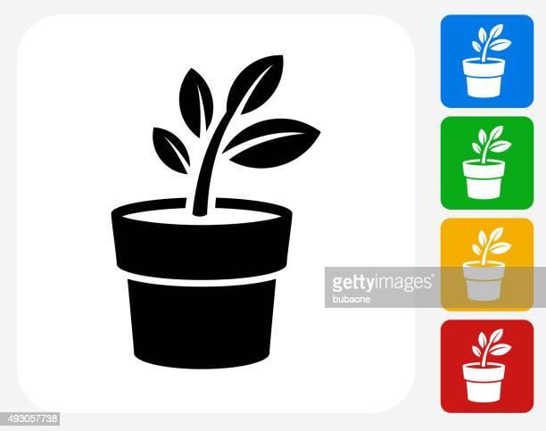Flower Pot Stock Illustrations And Cartoons