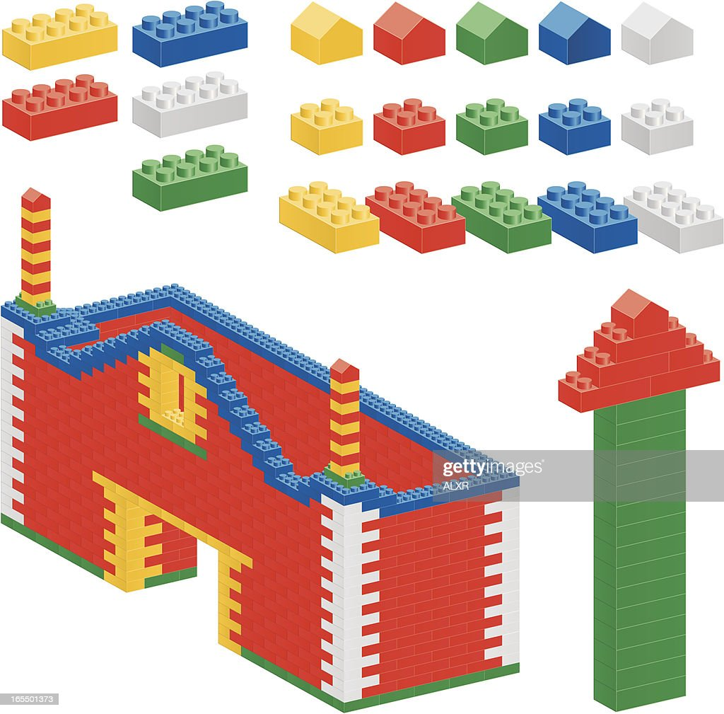 Plastic Block (CMYK eps8)