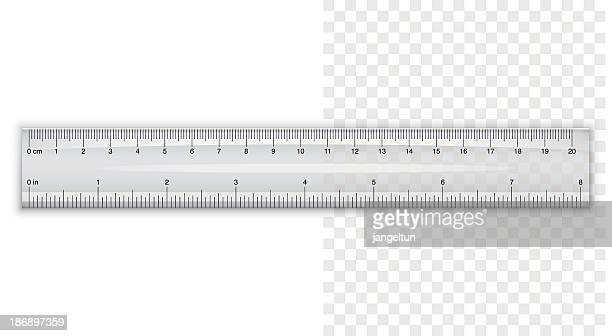 plastic ruler - ruler stock illustrations