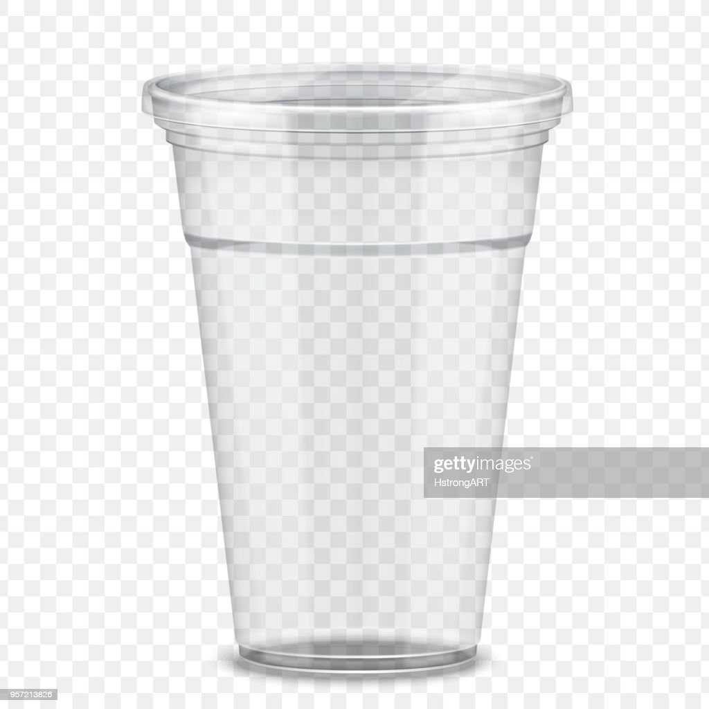 Plastic takeaway cup