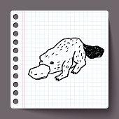 platypu doodle