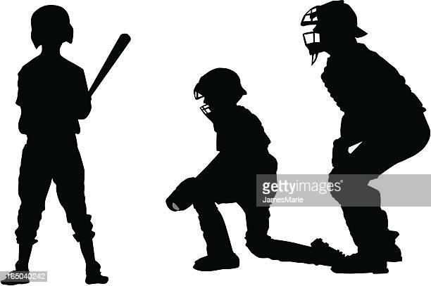 illustrations, cliparts, dessins animés et icônes de jeu de balle - arbitre de baseball