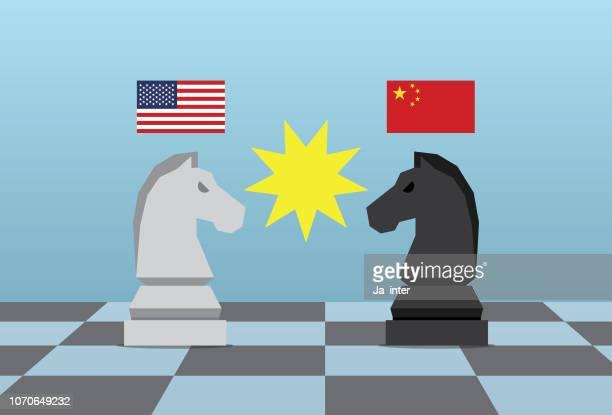 ilustraciones, imágenes clip art, dibujos animados e iconos de stock de jugar al ajedrez - tablero de ajedrez