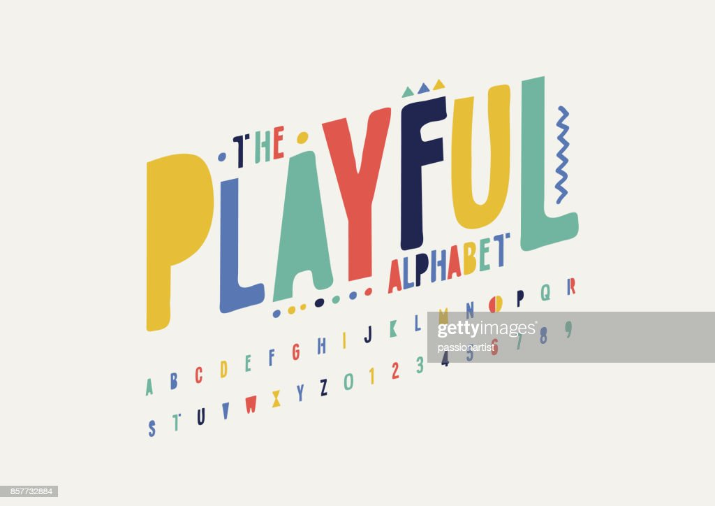 Playful alphabet