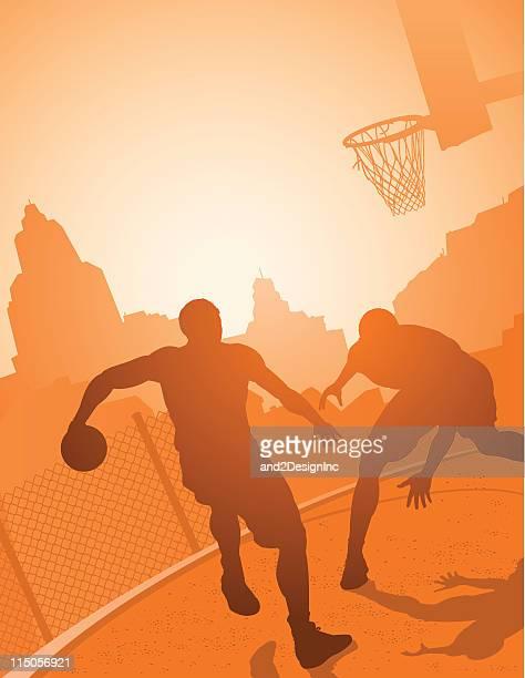 Playground basketball
