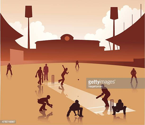 Playing a Game of Cricket