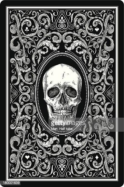 playing card design - terminal illness stock illustrations, clip art, cartoons, & icons