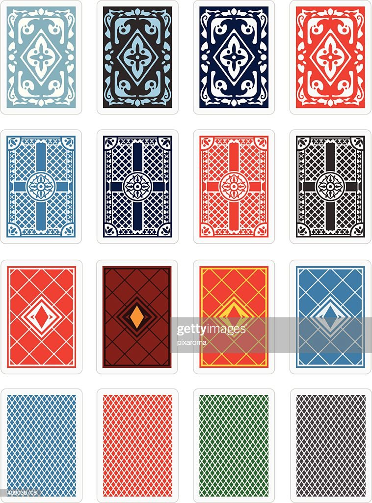Playing Cards Back Design Set