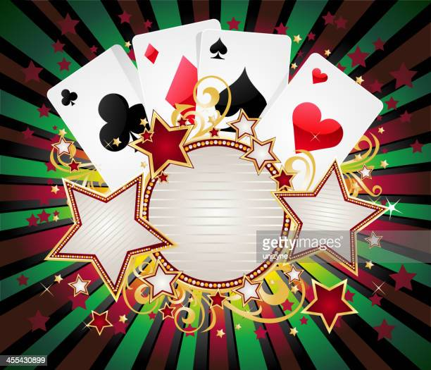 Playing Cards with Round Marquee