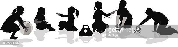 playtimekindergarten - bad posture stock illustrations, clip art, cartoons, & icons